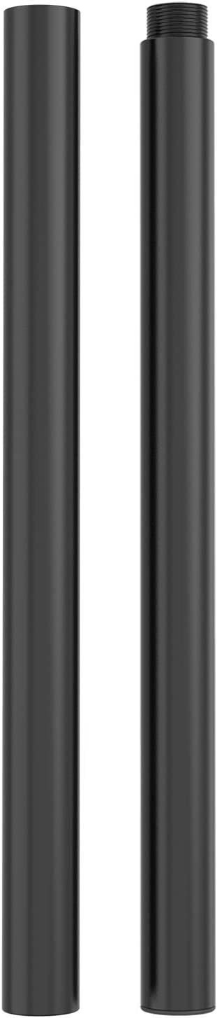 WALI 31.5 inch Mounting Pole Heavy Duty Accessory for WALI Monitor Mounting System (001XL), Black