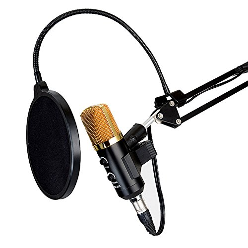 Radio Shack Tripod - WALLER PAA USB Condenser Studio Sound Recording Microphone Mic + Shock Mount Tripod Stand #