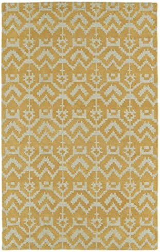 Kaleen Rugs Lakota Collection LKT07-07 Butterscotch 5 x 7 9 Handmade Rug