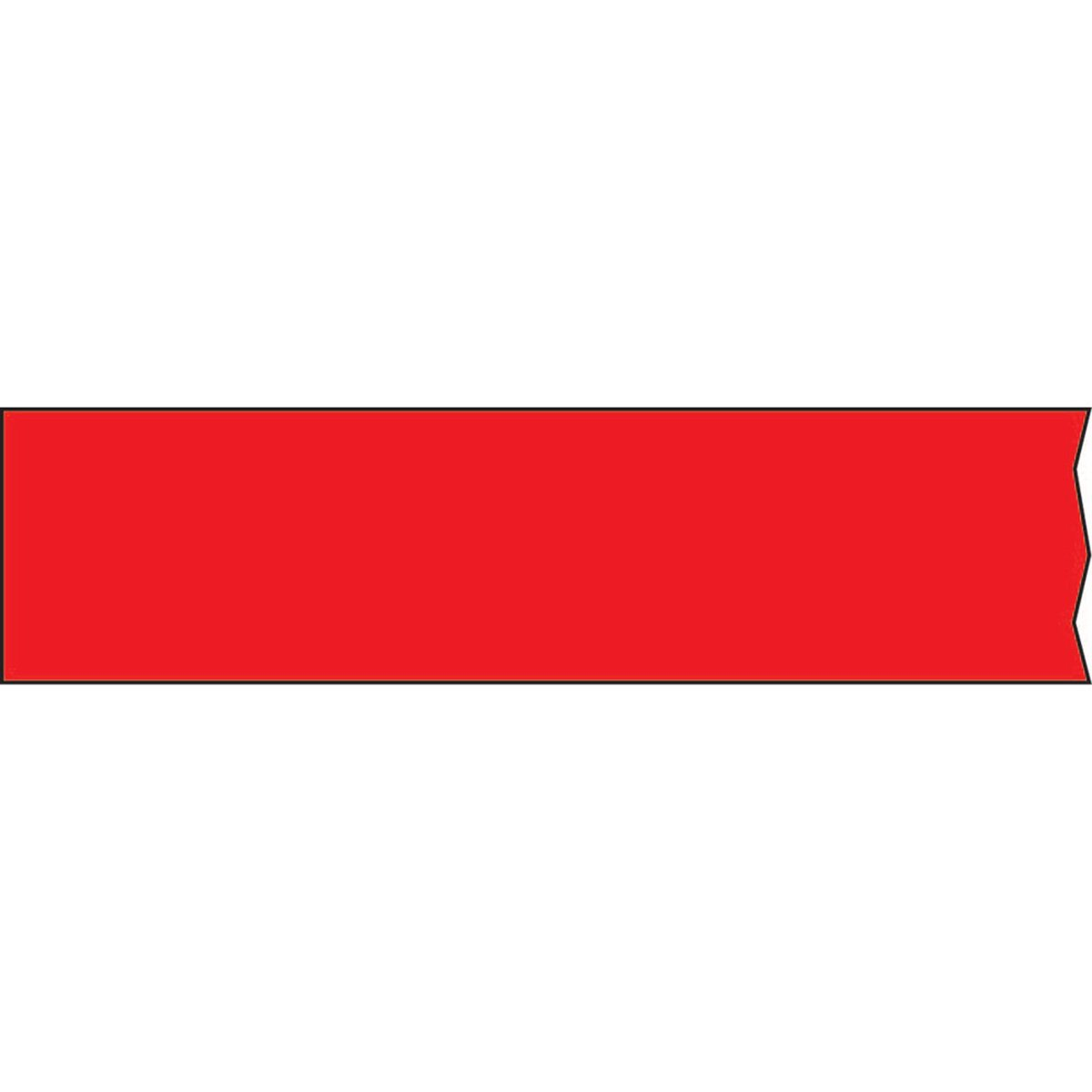 TIMETAPE T-160-5 Tape, Removable, 3'' Core, 1'' x 2160'', Imprints Red (Pack of 1)