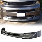 Front Bumper Lip Fits 2003-2007 SCION XB | JDM Style PU Black Front Lip Spoiler Splitter Air Dam Chin Diffuser Add On by IKON MOTORSPORTS | 2004 2005 2006