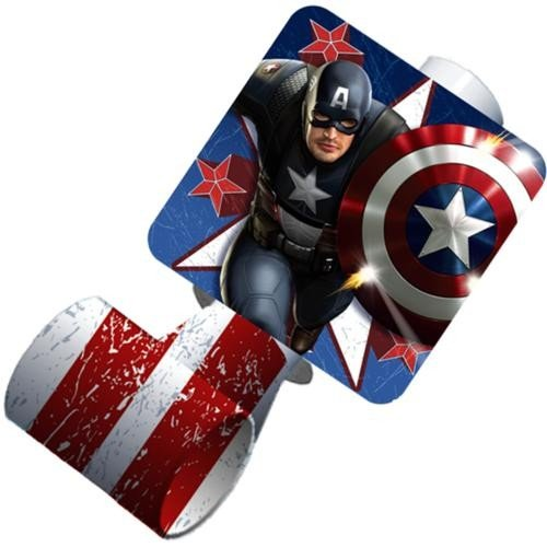 Captain America Blowout Party Favors (8ct) by Hallmark