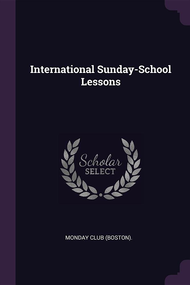 Download International Sunday-School Lessons pdf