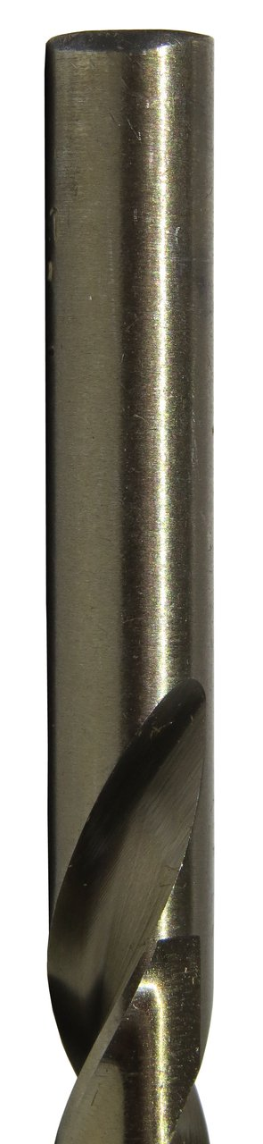 135 Degrees Split Point 42 Size Spiral Flute Drill America DWDCO Series Cobalt Steel Economy Heavy Duty Jobber Length Drill Bit Gold Oxide Finish Pack of 12 Round Shank