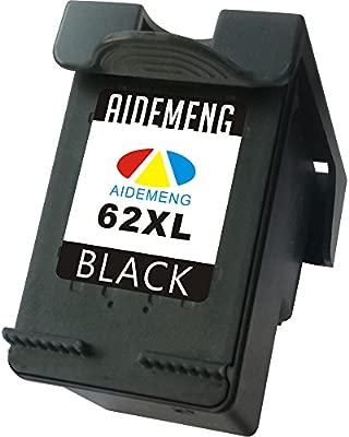AideMeng Cartucho de Tinta Regenerado HP 62XL Pack de 2 Negro/Tricolor para HP Envy 5540 5544 5546 5640 5642 5644 7640 5646 5542