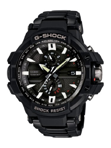 Casio GWA1000D 1A G Aviation G Shock Watch