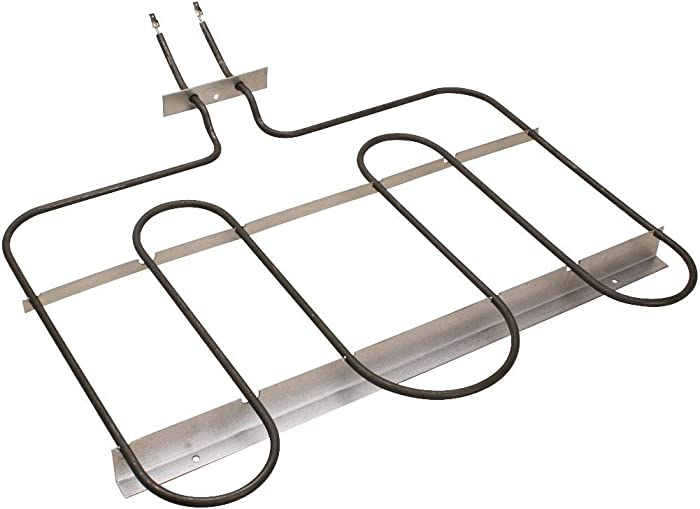"Edgewater Parts 74011117 Range Bake Element, 3600W, 240V.250"" Male Terminal Push-in Connections, Compatible With Whirlpool, Maytag, Amana, KitchenAid, and Jenn-Air"