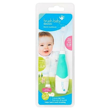 Cepillo de dientes eléctrico Sonic para bebé, color puede variar