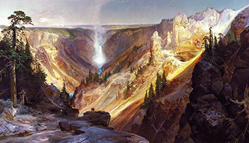 - Thomas Moran Grand Canyon of The Yellowstone 1872 Department of The Interior Museum 30