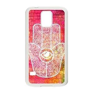hamsa hand CUSTOM Phone Case for SamSung Galaxy S5 I9600 LMc-56336 at LaiMc