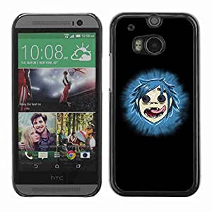 Planetar? ( Gorillas ) All New HTC One (M8)hard printing protective cover protector sleeve case