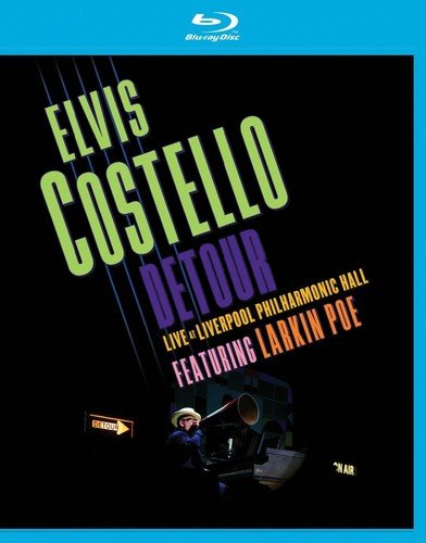 Blu-ray : Elvis Costello - Detour Live at Liverpool Philharmonic Hall (Amaray Case)