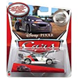 Disney Pixar Cars - 1:55 Scale Diecast Silver Racer Series - MAX SCHNELL
