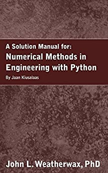 Numerical Methods Engineering, First Edition