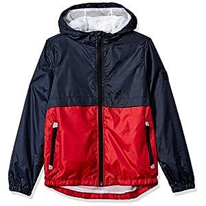 Southpole Big Boys' Colorblock Water Resistance Windbreaker Hooded Jacket