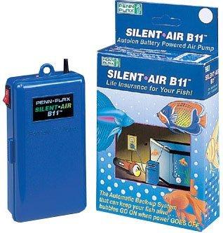 Penn Plax Silent Air B11 Battery Operated Air Pump by Pen...