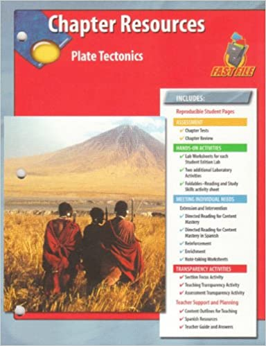 Glencoe Science FastFile Chapter Resources: Plate Tectonics Book Pdf