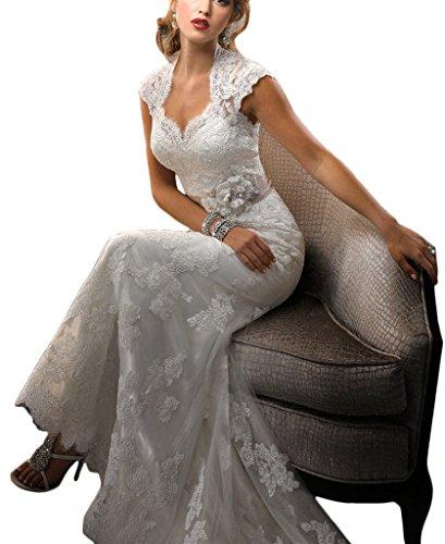 2017 New Appliqued Mermaid Wedding Gowns Bridal Evening Dresses