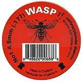 Wasp Domed .177 4.5mm Air Rifle Pistol Gun 177 Pellets 500 Airgun Shooting Red Tin