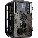Longpro Trail Camera, Hunting Game Camera 16MP 1080P Full HD 0.2S Trigger Speed 65ft IR LEDs Night Vision IP56 Waterproof