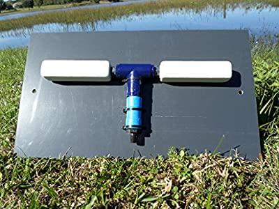 Lake / Pond Aeration Underlay Manifold / Pond Deicer -model# LAM-02- {two diffusers} - manufactured by Bubblemac Industries, Inc.