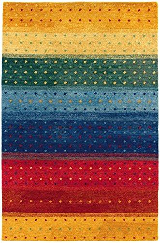 Couristan 6156/0202 Oasis Rainbow Area Rugs, 2-Feet by 4-Feet, Multi Color
