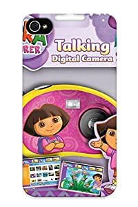 Shock-dirt Proof Dora The Explorer Talking Digital Camera Review Case Cover Design For Iphone 4/4s - Best Lovers hjbrhga1544