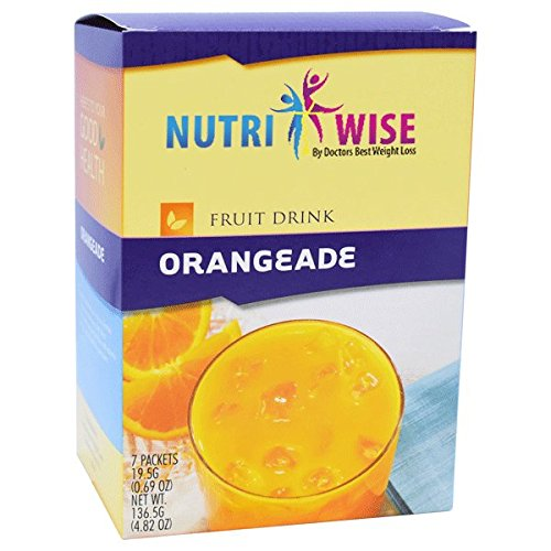 NutriWise - Protein Diet Fruit Drinks - Orangeade (7/box)
