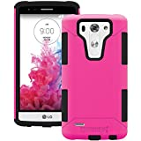 AFCTRIDENT Aegis Case for LG G3 Mini - Retail Packaging - Pink