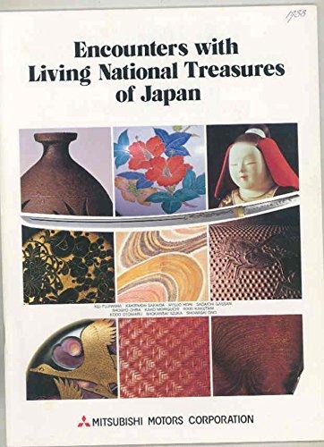 National Living Treasures (1988 Encounters Living National Treasures of Japan Brochure Mitsubishi)