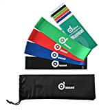 Odoland 16 pcs Exercise Resistance Bands Set Workout Fitness Bands