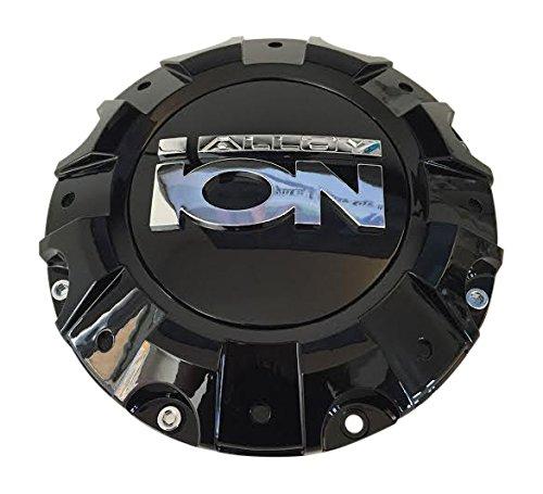 Ion Alloy C1019402B C-218-1 LG1212-20 Black Wheel Center Cap