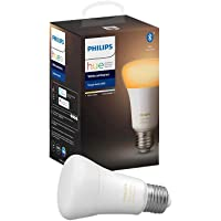 Philips Hue White Ambiance Edison Screw (E27) Dimmable LED Smart Bulb (Latest Model, Compatible with Bluetooth, Amazon…