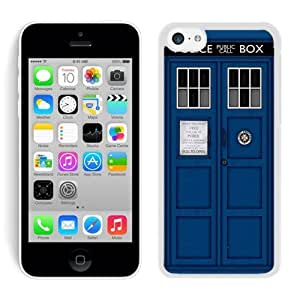 For iPhone 5C,Doctor Who Tardis White iPhone 5C Case Online