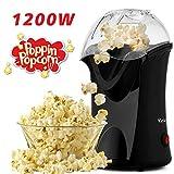 Homdox Hot Air Popcorn Machine, 1200 W Popcorn