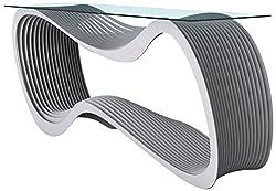 Arktura Loop Console Table, Aviator Gray
