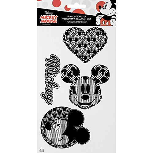 Wrights 1931128001 Disney Mickey Mouse Iron-On Transfers