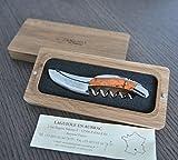 Laguiole an Aubrac Sommelier Corkscrew, Genuine Coral Handle