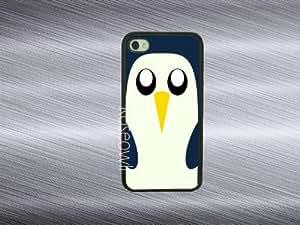 Iphone 5 case - Penguin iphone 5s case rubber iphone case iphone 5 cases