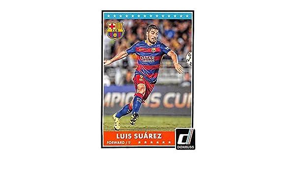 Luis Suarez trading card (Uruguay Soccer Barcelona) 2015 Donruss  70 at  Amazon s Sports Collectibles Store d90bce428