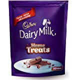 Cadbury Dairy Milk Chocolate Home Pack, 140g (20 Count)