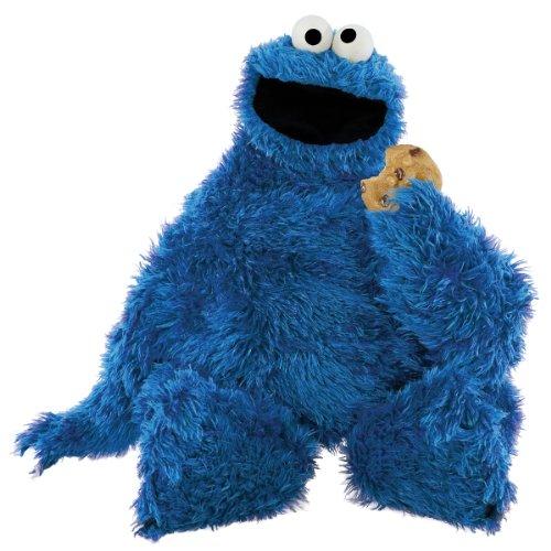 """Sesame Street Cookie Monster Wall Decal Cutout 34""""x34"""""""