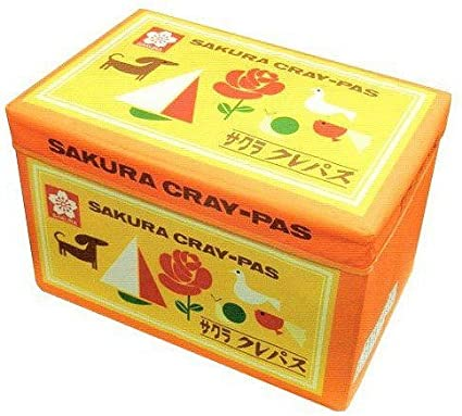 Sakura Color Storage BOX Pastel Crayon