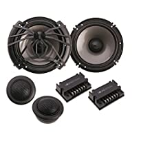 "Soundstream AC.6 Arachnid Component 6.5"" 2-Way 300W Speaker Set, Black"