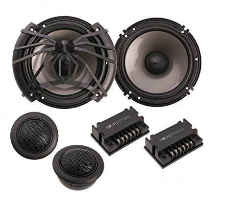 Soundstream AC.6 Arachnid Component 6.5'' 2-Way 300W Speaker Set by Soundstream