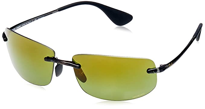7833194a3d Ray-Ban Chromance Injected Frame Green Lens Sunglasses RB4254 ...
