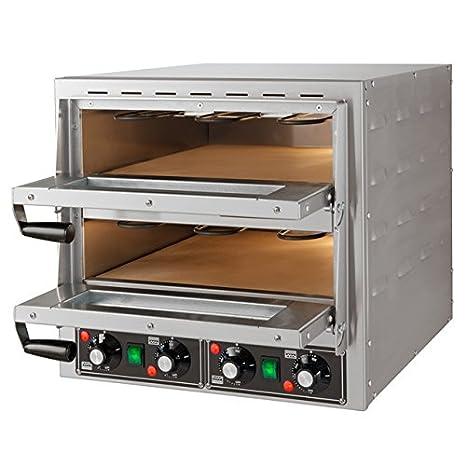 LUXEDA  Forno Elettrico Professionale Per Pizza   Potenza 3.4 Kw A 230V