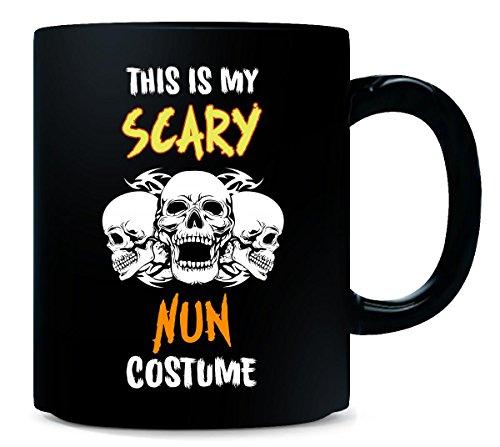 This Is My Scary Nun Costume Halloween Gift - Mug ()