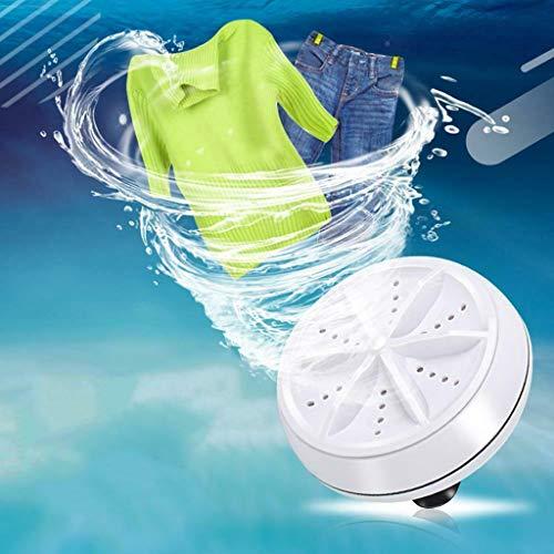 Baomabao Laundry Machine, 3 in1 Mini Washing Machines Washer Portable Rotating Supersonic Turbine