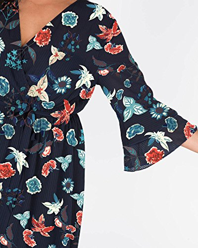 L'amour De Votre Garde-robe Pré Maxi Robe Imprimé Floral